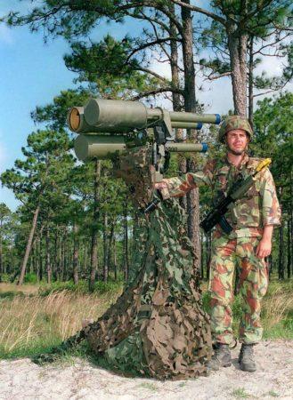 Javelin air missile